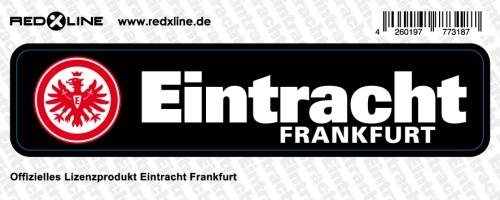 eintracht frankfurt aufkleber sticker schriftzug klein offizielles lizenzprodukt ebay. Black Bedroom Furniture Sets. Home Design Ideas