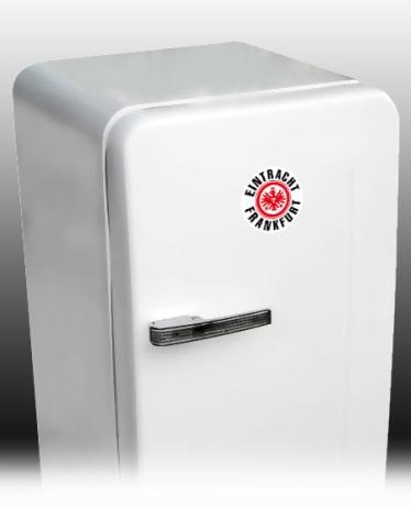 eintracht frankfurt aufkleber sticker logo klein offizielles lizenzprodukt ebay. Black Bedroom Furniture Sets. Home Design Ideas